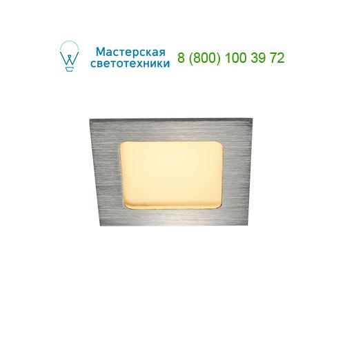 Marbel FRAME BASIC, LED Set, Downlight, alu brushed, 6W, 3000K, inkl. Treiber