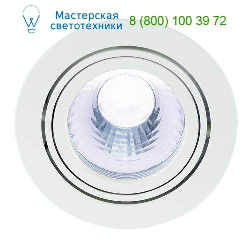 Marbel NEW TRIA LED DISK Downlight, rund, weiss, 4000K, 60°