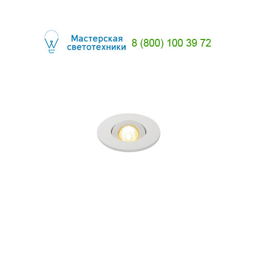 Marbel NEW TRIA MINI DL ROUND, Downlight, mattweiss, 30°, 3000K, inkl. MI-Stecker,Clipf.