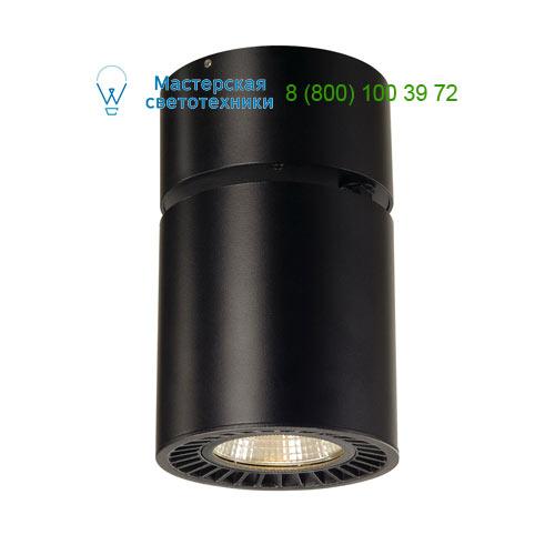 Marbel SUPROS CL, Deckenleuchte, rund, schwarz, 3000lm, 3000K SLM LED, 60° Reflektor