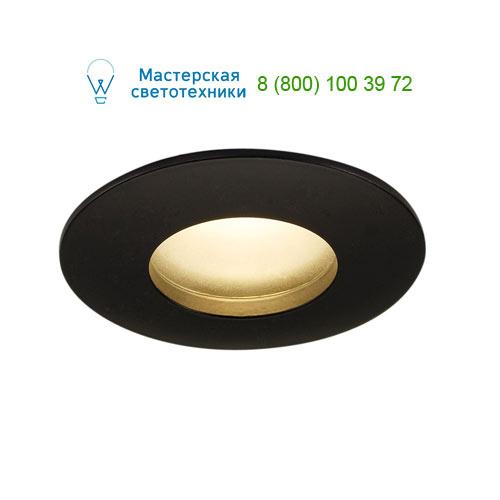 Marbel OUT 65 LED DL ROUND Set Downlight, mattschwarz, 9W, 38°, 3000K, inkl. Treiber