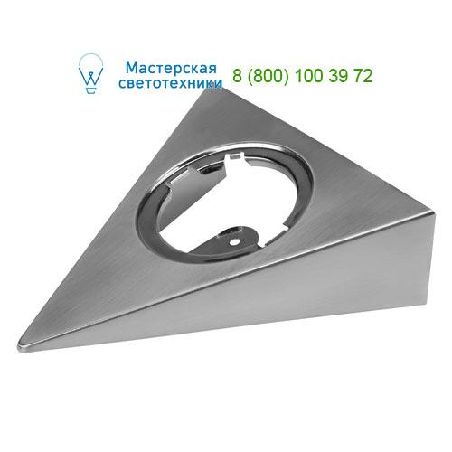 Marbel 112175 SLV DL 126 LED, корпус накладного монтажа, треугольный, матированный металл
