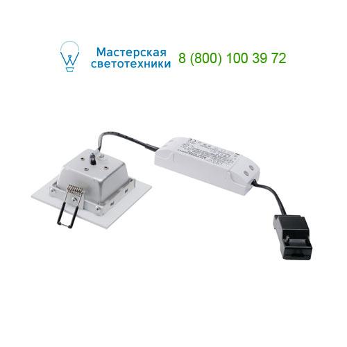 Marbel 112721 SLV FRAME BASIC LED SET светильник встраив. с LED 6Вт (9,4Вт), 3000K, 450lm, с блоком питания