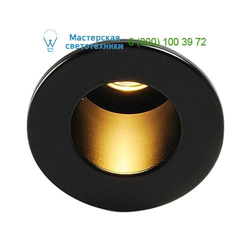 Marbel 113670 SLV TRITON MINI LED HORN светильник встраиваемый с PowerLED 1Вт, 3000К, 60lm, черный
