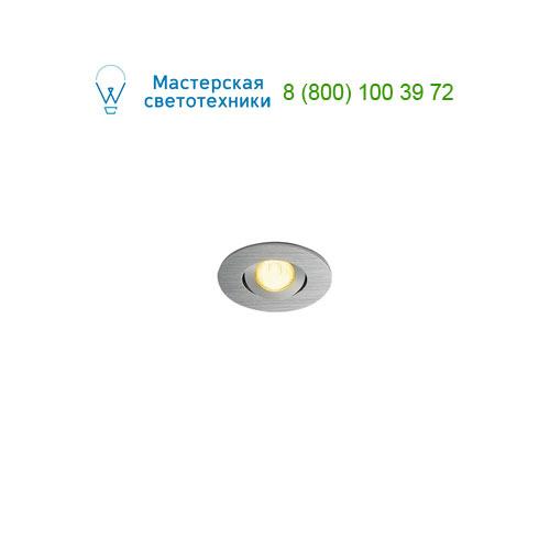 Marbel 113976 SLV NEW TRIA MINI DL ROUND SET, светильник с LED 2.2Вт, 3000K, 30°, 143lm, с блоком питания,