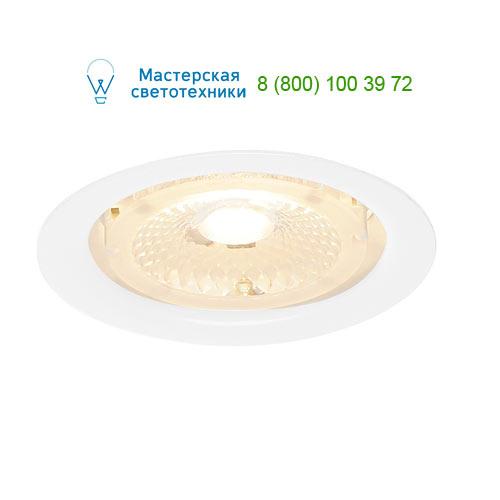 Marbel 114051 SLV F-LIGHT светильник встраиваемый огнестойкий 350mА с LED 6,35Вт, 3000К, 690lm, 40°, белый