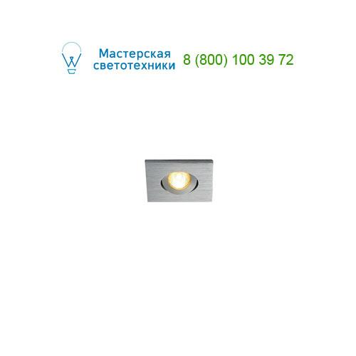 Marbel 114406 SLV NEW TRIA MINI DL SQUARE SET, светильник с LED 2.2Вт, 3000K, 30°, 143lm, с блоком питания,
