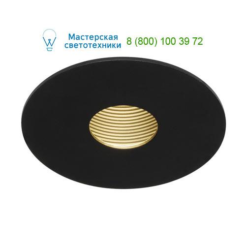 Marbel 114480 SLV H-LIGHT 1 LED светильник встраиваемый с LED 11.5Вт (12Вт), 2700К, 265lm, черный