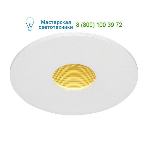 Marbel 114481 SLV H-LIGHT 1 LED светильник встраиваемый с LED 11.5Вт (12Вт), 2700К, 265lm, белый