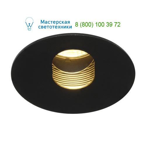 Marbel 114490 SLV H-LIGHT 2 LED светильник встраиваемый с LED 11.5Вт (12Вт), 2700К, 395lm, черный