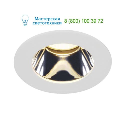 Marbel 114501 SLV H-LIGHT 3 LED светильник встраиваемый с LED 11.5Вт (12Вт), 2700К, 540lm, белый