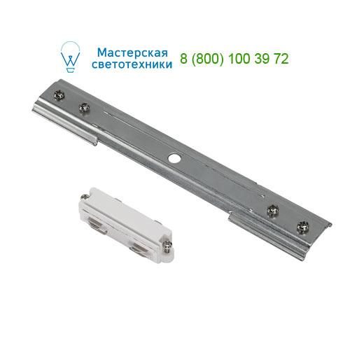 Marbel 143151 SLV 1PHASE-TRACK, коннектор прямой механический, никель