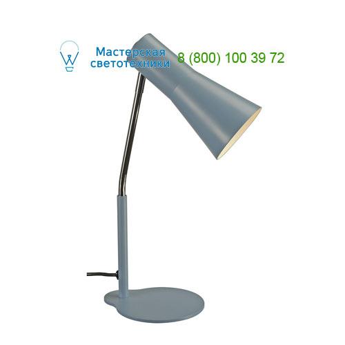Marbel 146007 SLV PHELIA TL светильник настольный для лампы GU10 35Вт макс., голубой