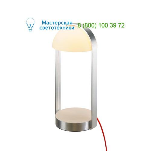 Marbel 146101 SLV BRENDA TL-1 свет-к настольный с LED 5.4Вт, 3000K, 460lm, сенсорное диммирование, алюминий