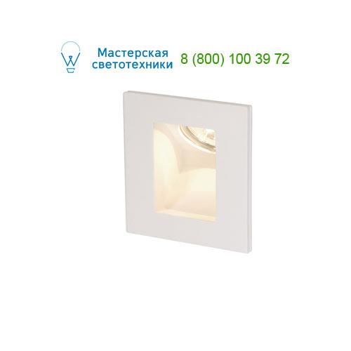 Marbel 148072 SLV PLASTRA INDI GU10 светильник встраиваемый для лампы GU10 35Вт макс., белый гипс