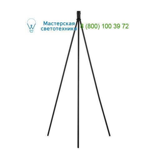 Marbel 155490 SLV FENDA, светильник напольный для лампы E27 60Вт макс., без абажура, тренога, черный