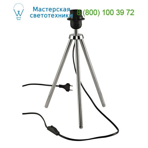 Marbel 155542 SLV FENDA, светильник настольный для лампы E27 40Вт макс., тренога, без абажура, хром