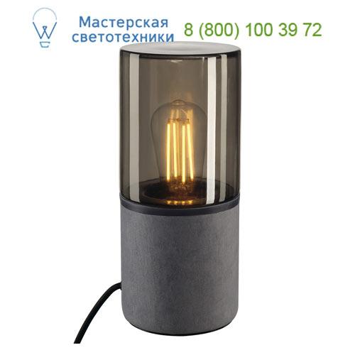 Marbel 155702 SLV LISENNE TL светильник настольный для лампы E27 23Вт макс., темно-серый базальт/ стекло ды
