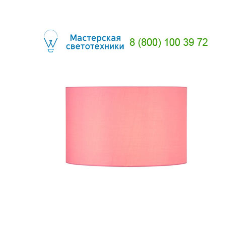 Marbel 156119 SLV FENDA, абажур диам. 45 cm, розовый
