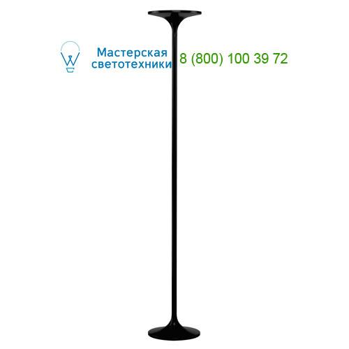 Marbel 157010 SLV TONIA светильник напольный с LED 24Вт, 2520lm, 3000К, черный матовый