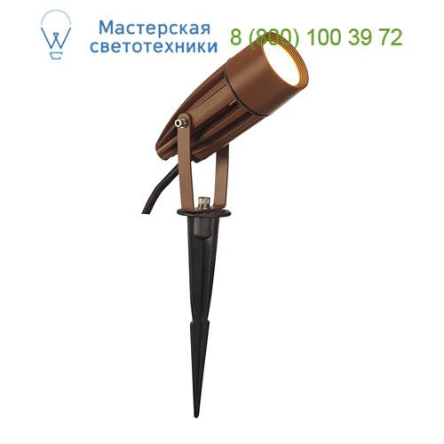 Marbel 227507 SLV SYNA LED светильник IP55 с LED 8.6Вт, 3000K, 470lm, бурый