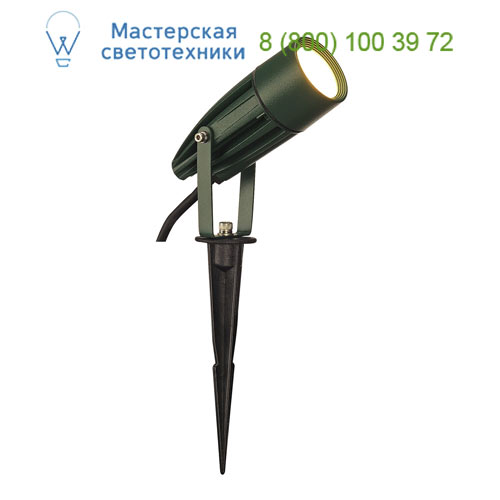 Marbel 227508 SLV SYNA LED светильник IP55 с LED 8.6Вт, 3000K, 470lm, зеленый