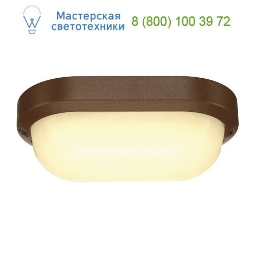 Marbel 229947 SLV TERANG 2 XL светильник накладной IP44 с SMD LED 22Вт, 3000K, 1300lm, бурый