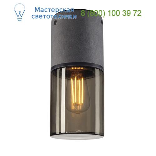 Marbel 231361 SLV LISENNE-O CL светильник потолочный IP44 для лампы E27 23Вт макс., темно-серый базальт/ ст