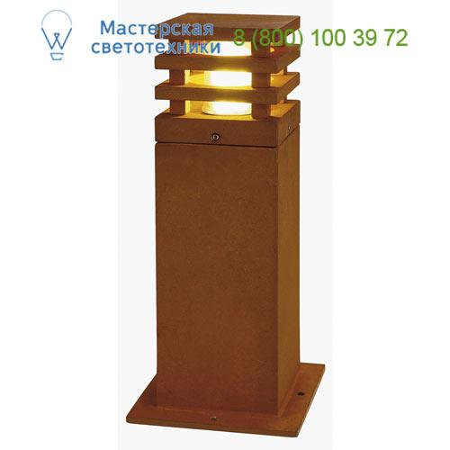 Marbel 233427 SLV RUSTY SQUARE LED 40 светильник IP55 с COB LED 8.6Вт, 3000K, 430lm, бурый