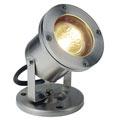 229090 NAUTILUS MR16 светильник IP67 для лампы MR16 35Вт макс., кабель 1.5 м, сталь SLV by Marbel