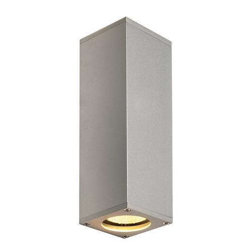 Marbel 1000328 SLV THEO UP/DOWN светильник настенный для 2-х ламп GU10 по 50Вт макс., серебристый (ex 15208