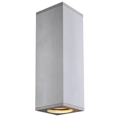 Marbel 1000329 SLV THEO UP/DOWN светильник настенный для 2-х ламп GU10 по 50Вт макс., матированный алюминий