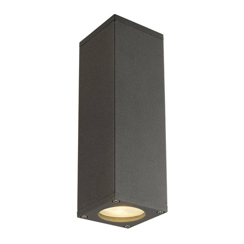 Marbel 1000330 SLV THEO UP/DOWN светильник настенный для 2-х ламп GU10 по 50Вт макс., антрацит