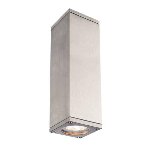 Marbel 1000331 SLV THEO UP-DOWN OUT светильник настенный IP44 для 2-х ламп GU10 по 35Вт макс., мат.алюминий