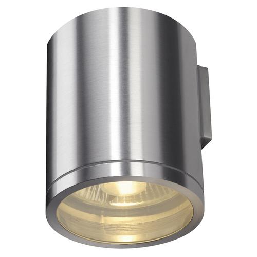 Marbel 1000333 SLV ROX WALL светильник настенный IP44 для лампы ES111 50Вт макс., матированный алюминий (ex