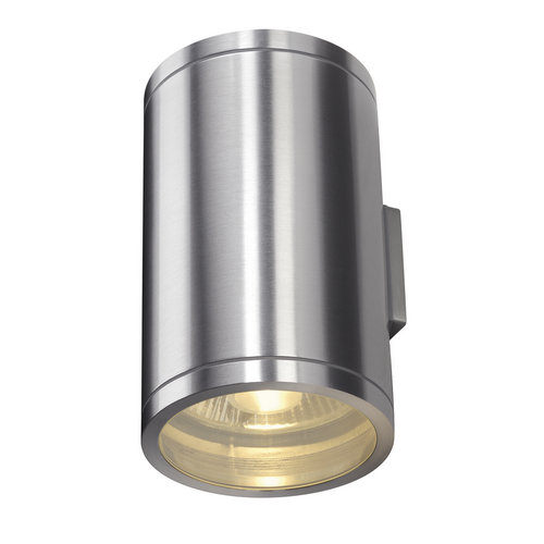 Marbel 1000334 SLV ROX UP/DOWN светильник настенный IP44 для 2-х ламп ES111 по 50Вт макс., матир. алюминий
