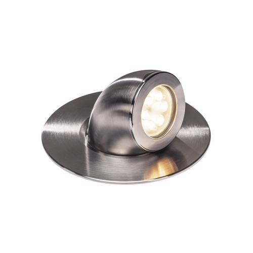 Marbel 1000384 SLV GIMBLE OUT светильник встраиваемый IP67 13Вт с LED 3000К, 1000лм, 36°, сталь