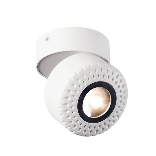 Marbel 1000427 SLV TOTHEE CW светильник накладной 17Вт с LED 3000К, 1250лм, 50°, белый/ черный