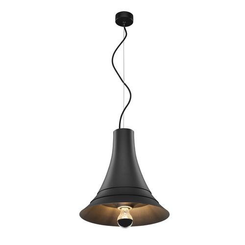 Marbel 1000434 SLV BATO 35 E27 PD светильник подвесной для лампы E27 60Вт макс., черный