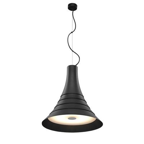 Marbel 1000435 SLV BATO 45 LED PD светильник подвесной 30Вт с LED 2700К, 1450лм, 100°, черный