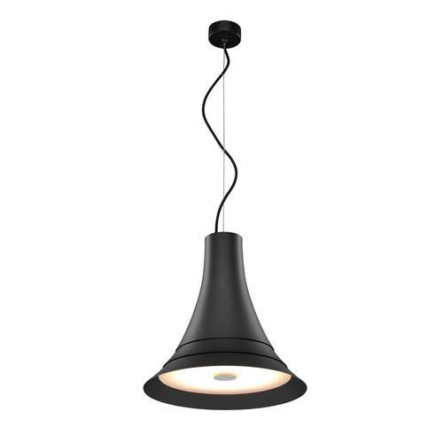 Marbel 1000436 SLV BATO 35 LED PD светильник подвесной 21Вт с LED 2700К, 1300лм, 100°, черный