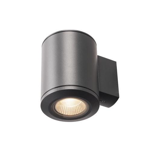 Marbel 1000448 SLV POLE PARC WL светильник настенный IP44 28Вт c LED 3000K, 2900лм, 36°, черный