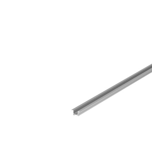 Marbel 1000457 SLV GRAZIA 10, профиль встраиваемый, 2 м, без экрана, алюминий