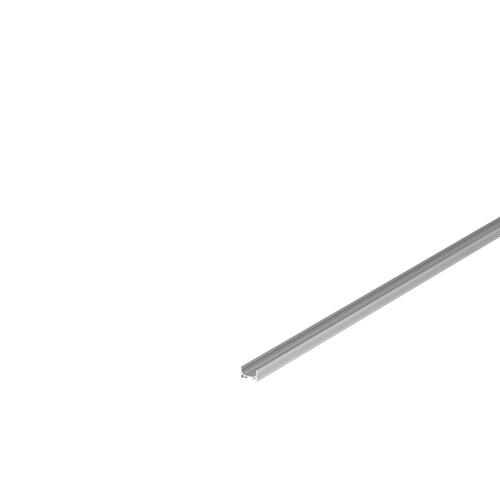 Marbel 1000460 SLV GRAZIA 10, профиль накладной плоский, 2 м, без экрана, алюминий