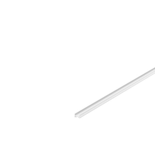 Marbel 1000461 SLV GRAZIA 10, профиль накладной плоский, 2 м, без экрана, белый