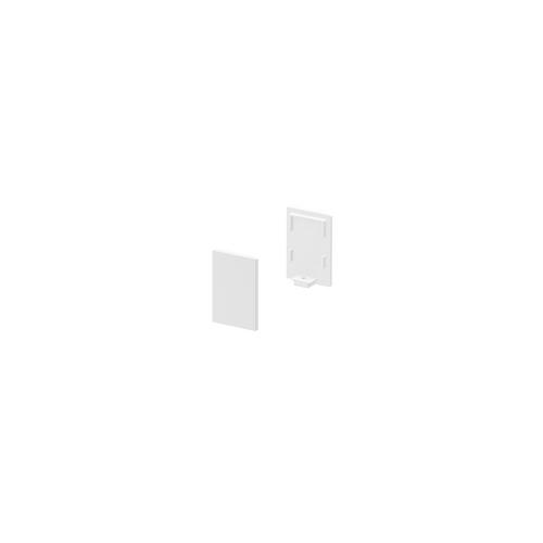 Marbel 1000485 SLV GRAZIA 10, заглушка высокая для профиля стандарт, 2шт., белый