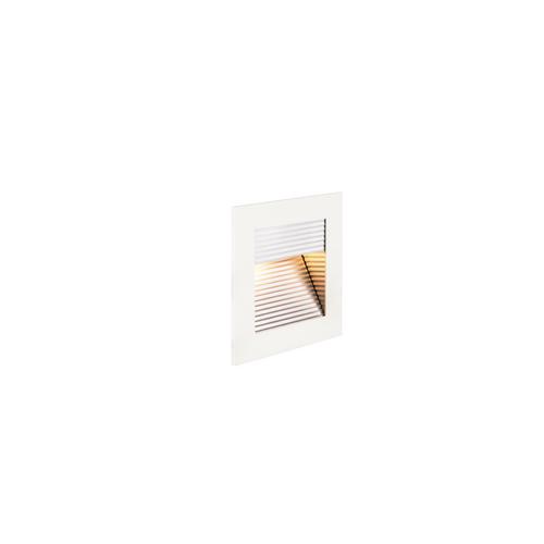 Marbel 1000574 SLV FRAME CURVE LED HV светильник встраиваемый 3.1Вт с LED 2700К, 100лм, белый/ алюминий