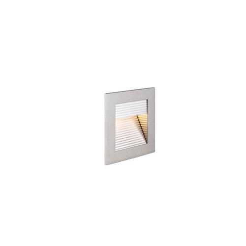 Marbel 1000575 SLV FRAME CURVE LED HV светильник встраиваемый 3.1Вт с LED 2700К, 100лм, серебристый/ алюмин