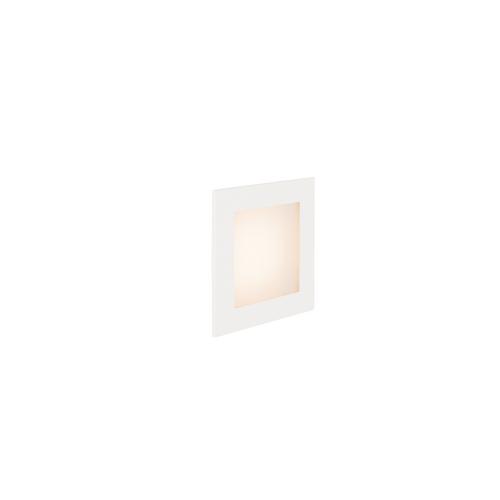 Marbel 1000576 SLV FRAME BASIC LED HV светильник встраиваемый 3.1Вт с LED 2700К, 140лм, белый