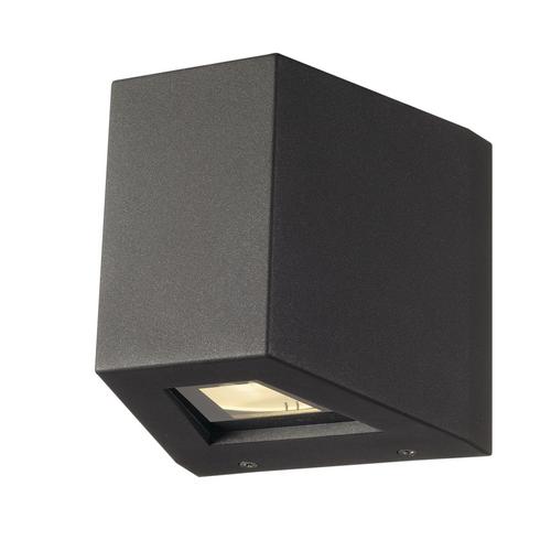 Marbel 1000588 SLV OUT BEAM QT-DE12 светильник настенный IP44 для лампы R7s 78мм 80Вт макс., 70°+2°, антрац